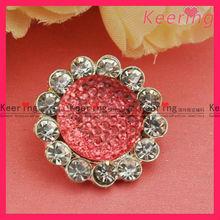 sun flower button wholesale bulk for party dress WBK-1286