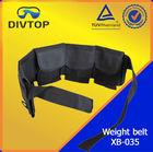 black nylon belt pouch weight belt plastic buckles