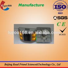 Super capacitor traffic safety Aluminum solar cat eye
