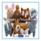 2014 Hot Sale cute plush bear, plush rabbit, plush owl best made toys stuffed animals