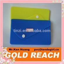 Summer Ladies' Stylish Silicone Envelope Handbag Totes