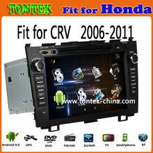"7"" HD Capacitive screen 2 din gps dvd player car audio for Honda CRV"