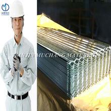 galvanized corrugated sheet / metal roofing sheet / de cubierta de galvanizado
