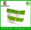 hot selling stripe canvas beach tote bag wholesale ca-88
