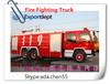 SINO 4*4 diecast model fire trucks,fire engine tank,antique metal fire truck