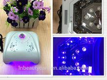 Replaceable led bulbs!!! 36 watts LED GEL COLOR Acrylic Gel Nail LED Light LED Lamp Cure Gel Polish 30sec with diamond timer
