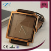 vogue designed watch square case watch leather watch women