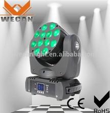 Hot wedding light 12pcs*10w led beam moving head/led light stage curtain