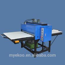 100*120 Duplex hydraulic sublimation transfer printing machine