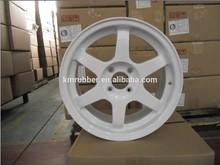 Japan design White Volk Rays TE37 alloy wheel