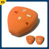 Newest silicone car key case toyota 4 buttons