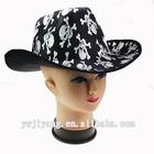 cheap felt cowboy hats fashion skull hat