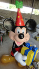 cartoon sculpture for character of Mickey Mouse