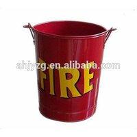 snacks garbage tin bucket