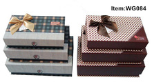 Newest Design High End Printed Wrapping Paper Storage Box