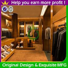 2014 latest fashion retail garment shop interior design