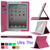 Super Ultra Thin Slim Smart Leather Tablet Case Cover With Card Slots For Apple iPad Air