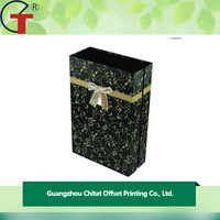 Cheap Wholesale paper packaging box for wine bottle carrier