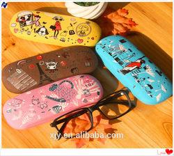 hard EVA zipper eyeglasses pouch carrying case