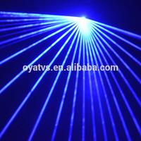 high power 3w blue color DJ laser lighting equipment distributor
