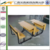 Commercial Double School Desk And Chair | school furniture