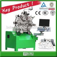 10 AXIS NO CAM CNC VERSATILE SPRING FORMING MACHINE
