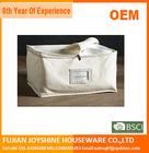 100%Cotton Canvas Blanket Storage bag/clothes storage bag/soft fabric storage bag