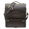 2014 fashion modern design genuine leather briefcase men bag from factory