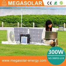 300W solar generator for TV ,computer
