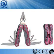 15 in 1 outerdoor tool camping tool multi function pocket tool