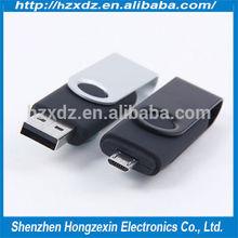 metal smartphone 64gb micro android mobile usb pendrive, usb2.0 flash drive plastic material wholesale 64gb usb flash drive