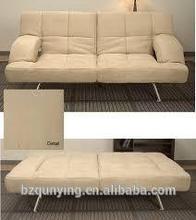 Contemporary convertible folding sofa bed mechanism
