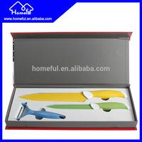 stainless steel non-stick coating kitchen utility knife set
