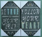 TYPOGRAPHY MDF PLAQUES ART FOR HOME DECORATION