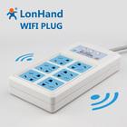 Wireless Wi-Fi Socket, Remote Control Plug, Supports PC/WEB/Pad Smart Home Serial