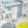 Economia de espaço cama de solteiro, Adolescente moderna camas, Estantes para quarto de crianças