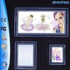 Guangzhou illuminated led acrylic funny photo picture frame