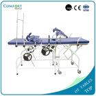 Portable gynecological obstetric birthing table