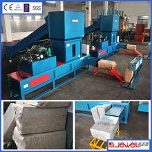 Wood sawdust compressor / rice husk baling machine