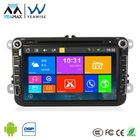 Android car pc with 3d interface 3G wifi BT video radio gps Ipod connection SDcard OBD DVR reverse camera for VW