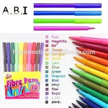 Promotion felt tip color pen