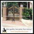 eterna perfeito portões de ferro forjado com ferro aço bar para casa
