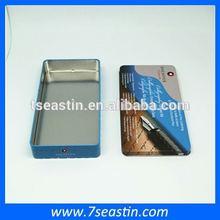 Top quality aluminum metal tins/cosmetic tin boxes