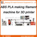 De alto rendimiento de plástico abs de la temperatura de fusión en la máquina de filamentos/de alta calidad ambiental filamento de la máquina