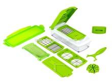 Super market promotional easy Convenient Vegetable & Fruit Cutter Plus Container Chopper Peeler Set