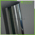 Silver Mirror Chrome PVC Vinyl Car Film with Protective Layers and Air Drain