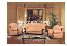 A074 Living Room Furniture Sets Antique Sofa Carved Wood Frame