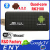 bluetooth updated MK809 Google TV Box Android 4.2 RAM 2GB + 8GB MK809 PC android tv dongle like Roku