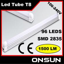CE&RoHs high lumens 18W 1500LM led tube ztl