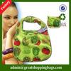 pattern foldable nylon shopping bag